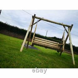 Albin Swing Set, Pressure Treated Posts, Heavy Duty, Garden, Summer seat