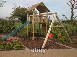 CLIMBING FRAME Quality Materials 5ft BASE, Excellent Value slide, swings, slide