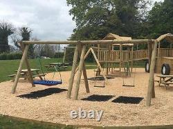 COMMERCIAL SWING SET Swing Seats, Garden Toys, Outdoor Toys, Swing (KING KONG)