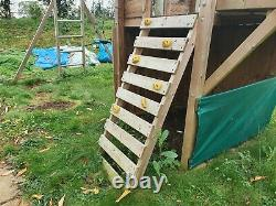 Climbing Frame. Dunster House'Balcony Fort Searcher'. Only three years old