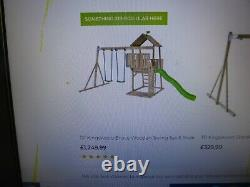 Climbing Frame Inc Slide & Swings Tp Action Toys Kingswood Type Stored Indoors