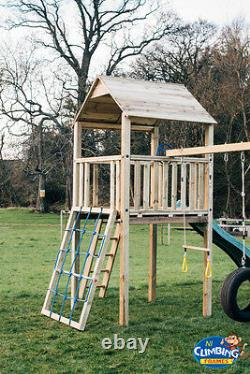 Climbing Frame Outdoor Toys, Kids Slide, Garden Toys, Swings (STACKS MOUNTAIN)