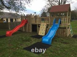Commercial Climbing Frame Slides, Outdoor Games, Slide (THE CASTLE)