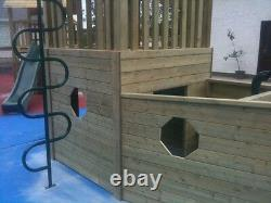 Commercial PIRATES SHIP 5ft TOWER Set Climbing Frame PUBS RESTAURANT HOTEL