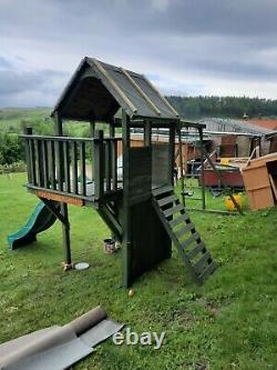 Dunster House FortPlus Escape Climbing Frame