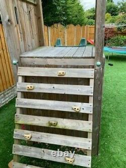 Dunster House FortPlus Escape Climbing Frame 6 years old but good condition