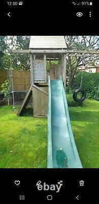 Dunster House Maxifort Frontier Climbing Frame With Swing, Used
