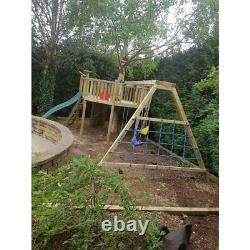 GIANT'S OCTAGON, Bespoke, Jungle Gym, Garden Trees, Monkey Bars, Cargo Rope, Fun
