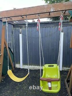 Jungle Gym Climbing Frame, Slide And Swing Set