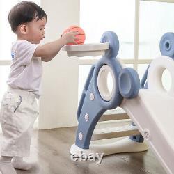 Kids Swing Set Playground Slide Children Play Area Outdoor Garden Toddler Baby