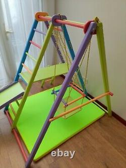 Kids indoor Swing Slide Climbing frame Set Baby Garden Outdoor Playground Toy