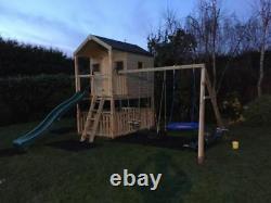 LAS VEGAS Playhouse on stilts, children outdoor fun playhouse, climbing frame