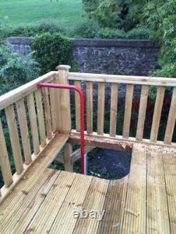 MEGA FORT Heavy Duty Wooden Climbing Frame, Huge Spec, Outdoor Space, Garden