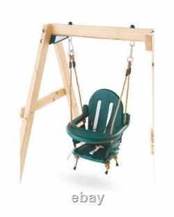 NEW Toddler Wooden Activity Play Centre Slide Swing Climbing Frame Garden