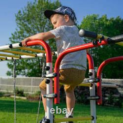 Outdoor playground Acrobat, garden climbing frame for kids, toys, swing, trapeze