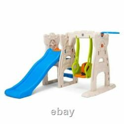 Play Centre Scramble'N slide area Kid Toddler Outdoor Garden Toy Child Swing