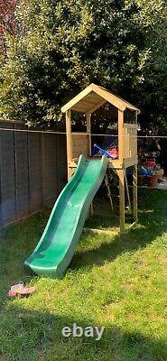 Plum 4394080 Lookout Tower Playhouse with Slide