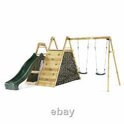 Plum Climbing Pyramid with Swings Garden Kids Set