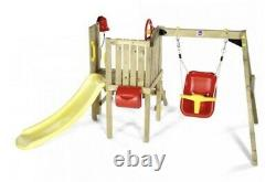 Plum Toddlers Tower Wooden Climbing Frame Missing Slide See Description