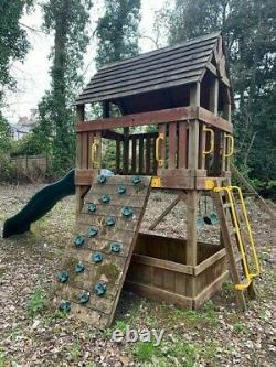 Rainbow climbing frame