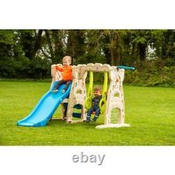 Scramble'N' Slide Play Centre Swing Outdoor Kids Climbing Wall Football Set NEW