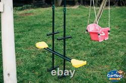 Single Swing Set Kids Heavy Duty Wooden Outdoor Garden Swing Set, FREE POSTAGE