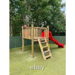 THE FORT Jungle Gym Climbing Set Tower Steps Bespoke commercial slide climb kids