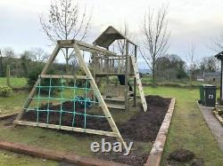 THE GALWAY- 6ft Tower, 10ft Monkey Bars, Steps, Swings, Picnic Table, Mud Kitchen