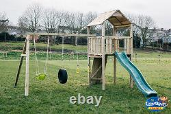 TMBER CLIMBING FRAME Quality Materials 5ft BASE RSP £895 Excellent Value