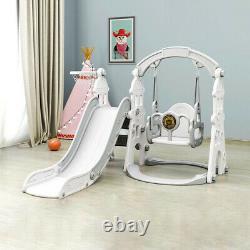 Toddler Climber Slide Swing Set Kids Indoor/Outdoor Playground Boy Girl Play Toy
