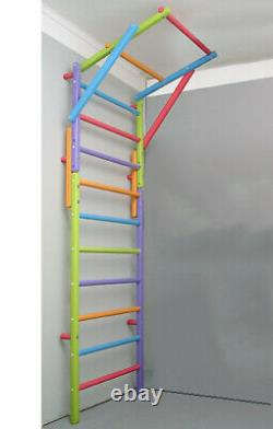 Wooden swing set for home Indoor playground for kids
