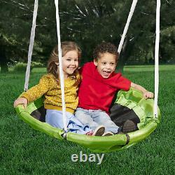 XDP Recreation 76667 Surf N Swing Outdoor Backyard Playground Swing Set Playset